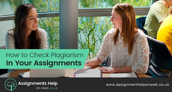 Check Pagiarism in Your Assignments